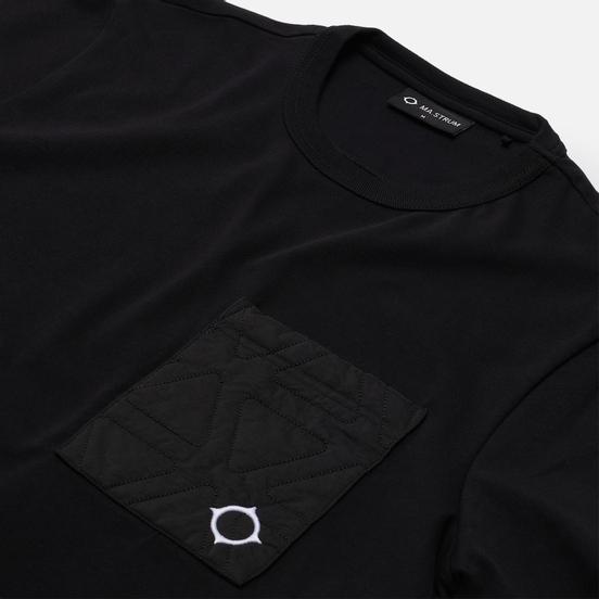 Мужская футболка MA.Strum Polygon Quilt Pocket Jet Black