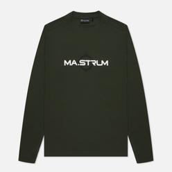 Мужской лонгслив MA.Strum Logo Print Oil Slick