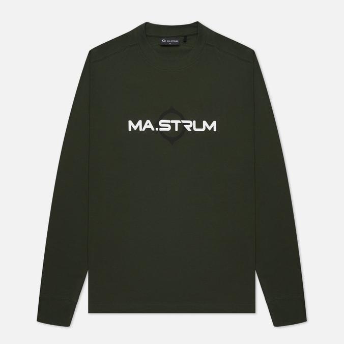 Мужской лонгслив MA.Strum Logo Print