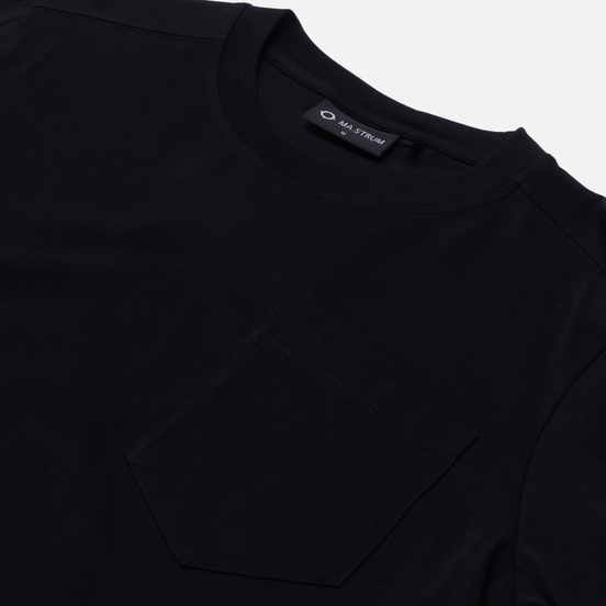Мужской лонгслив MA.Strum Sleeve Print Jet Black