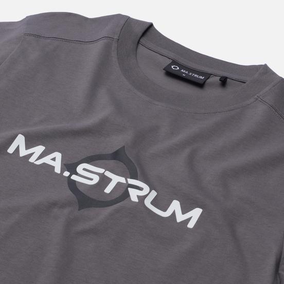 Мужская футболка MA.Strum Logo Print Dark Slate