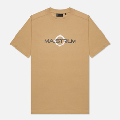 Мужская футболка MA.Strum Logo Print Sand