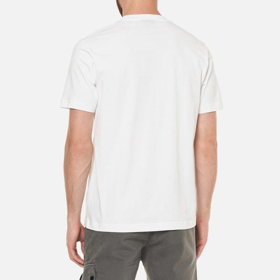 Мужская футболка MA.Strum Distort Logo Optic White