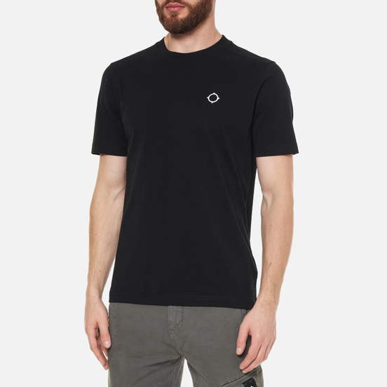 Мужская футболка MA.Strum Icon Embroidered ID Jet Black