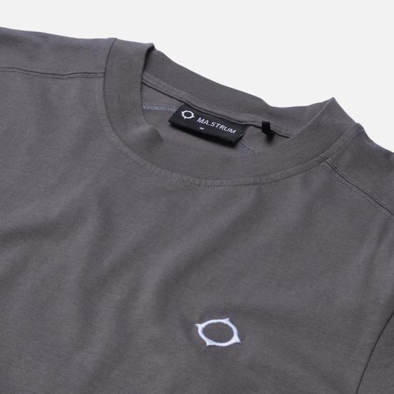 Мужская футболка MA.Strum Icon Embroidered ID Dark Slate