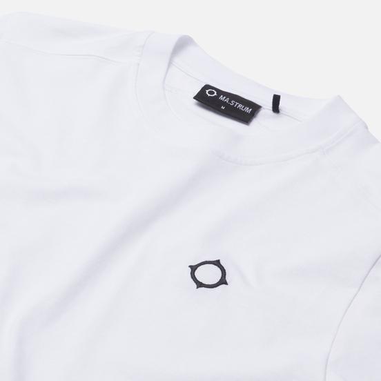Мужская футболка MA.Strum Icon Embroidered ID Optic White