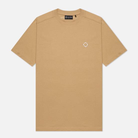 Мужская футболка MA.Strum Icon Embroidered ID Sand