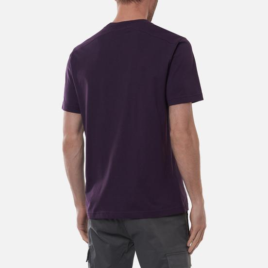 Мужская футболка MA.Strum Icon Embroidered ID Aubergine