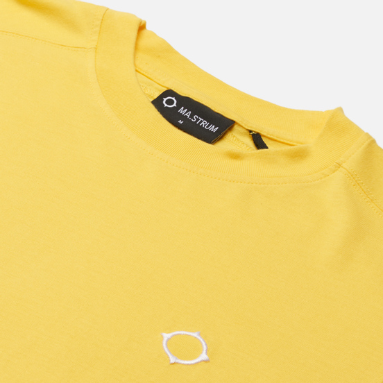 Мужская футболка MA.Strum Icon Embroidered ID Citrus Yellow