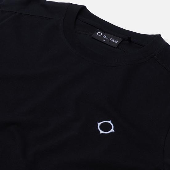 Мужской лонгслив MA.Strum Icon Embroidered ID Jet Black