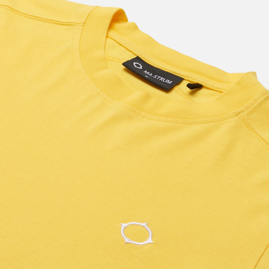 Мужской лонгслив MA.Strum Icon Embroidered ID Citrus Yellow
