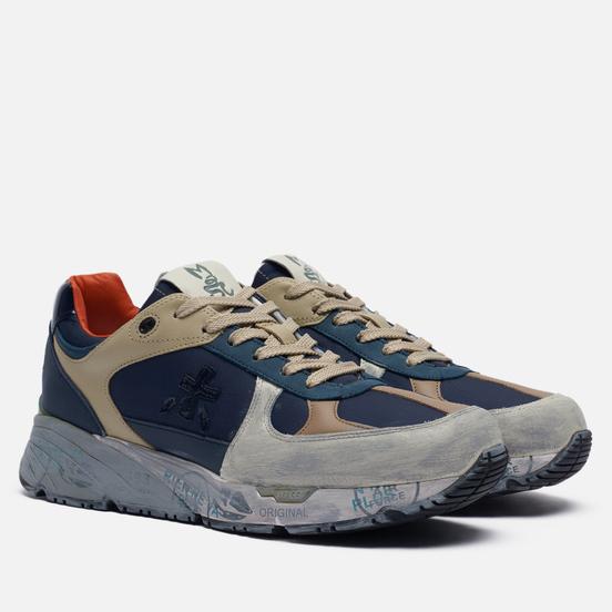 Мужские кроссовки Premiata Mase 4551 Navy