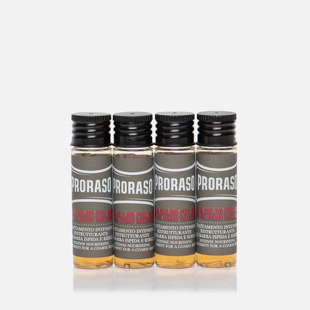Горячее масло для бороды Proraso Intense Nourishing Treatment 4x17ml