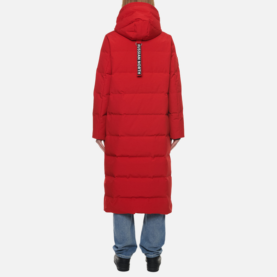 Женский пуховик Arctic Explorer Quilted Down Red