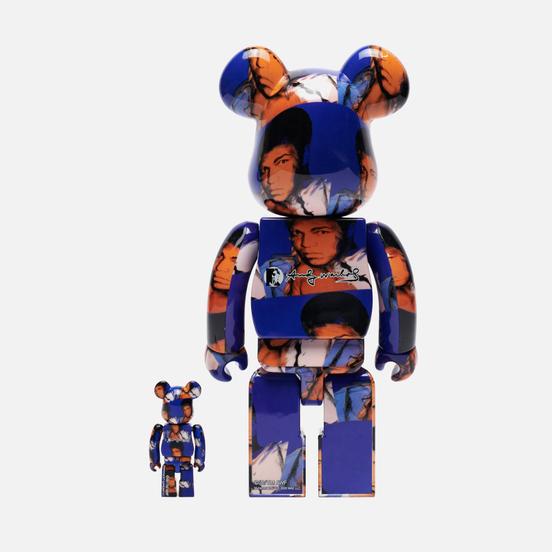 Игрушка Medicom Toy Andy Warhol Muhammad Ali 100% & 400%