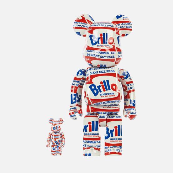 Игрушка Medicom Toy Andy Warhol Brillo 100% & 400%