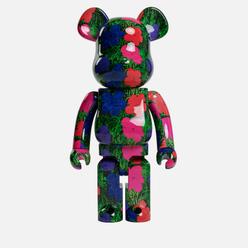 Игрушка Medicom Toy Bearbrick Andy Warhol Flrs 1000%