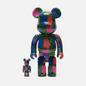Игрушка Medicom Toy Bearbrick Andy Warhol Flrs 100% & 400% фото - 0