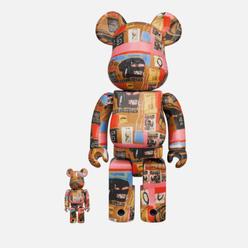 Игрушка Medicom Toy Andy Warhol x Jean-Michel Basquiat 2 100% & 400%