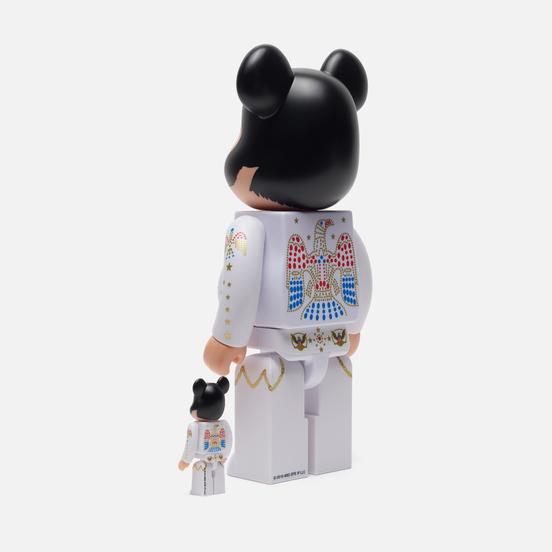 Игрушка Medicom Toy Bearbrick Elvis Presley 100% & 400%
