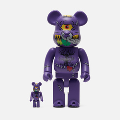 Игрушка Medicom Toy Bearbrick x Madballs Head 100% & 400%