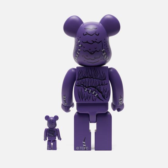Игрушка Medicom Toy Bearbrick x Madballs Head 100% & 400%