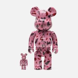 Игрушка Medicom Toy Bearbrick Kidill x Wakiyama P 100 & 400%