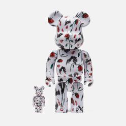 Игрушка Medicom Toy Bearbrick Kidill x Wakiyama W 100 & 400%