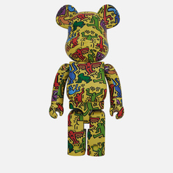 Игрушка Medicom Toy Bearbrick Keith Haring Ver. 5 1000%