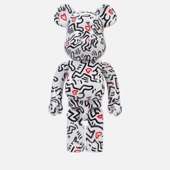 Игрушка Medicom Toy Bearbrick Keith Haring Ver. 8 1000%