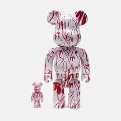 Игрушка Medicom Toy Bearbrick x Curtis Kulig 100% & 400%