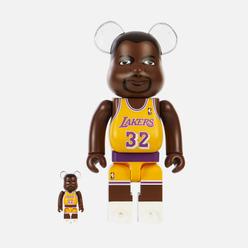 Игрушка Medicom Toy Magic Johnson Los Angeles Lakers 100% & 400%