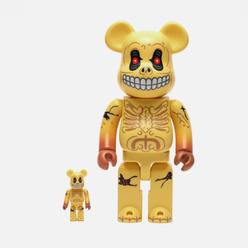 Игрушка Medicom Toy Madballs Skull Face 100% & 400%