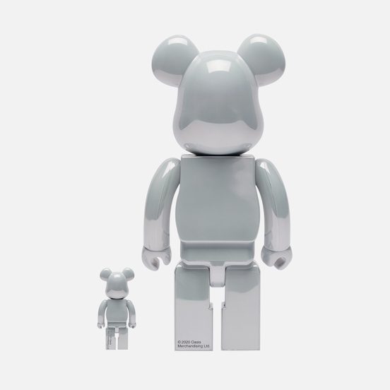 Игрушка Medicom Toy Oasis White Chrome 100% & 400%