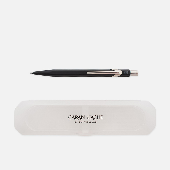Механический карандаш Caran d'Ache Office Classic 0.7 Giftbox Black