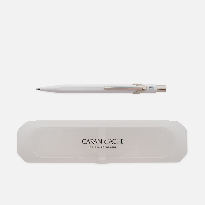 Механический карандаш Caran d'Ache Office Classic 0.7 Giftbox White