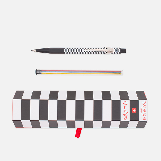 Caran d'Ache x Mario Botta Office 0.2 Classic Pencil Black