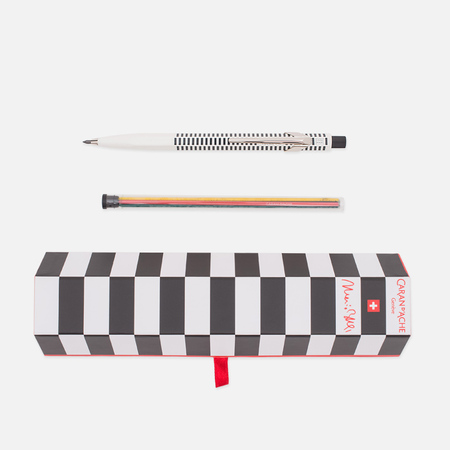 Caran d'Ache x Mario Botta Office 0.2 Classic Pencil White