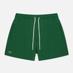 Мужские шорты Lacoste Light Quick-Dry Swim Green/Navy Blue