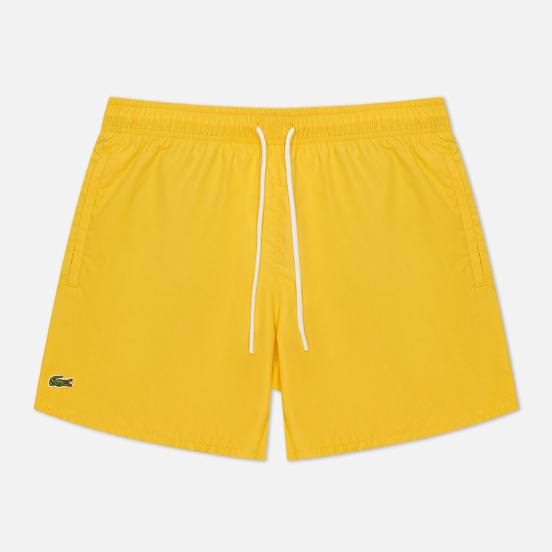 Мужские шорты Lacoste Light Quick-Dry Swim Anthemis/Green