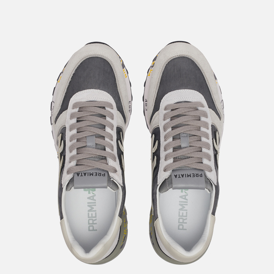 Мужские кроссовки Premiata Mick 4952 Grey/Beige