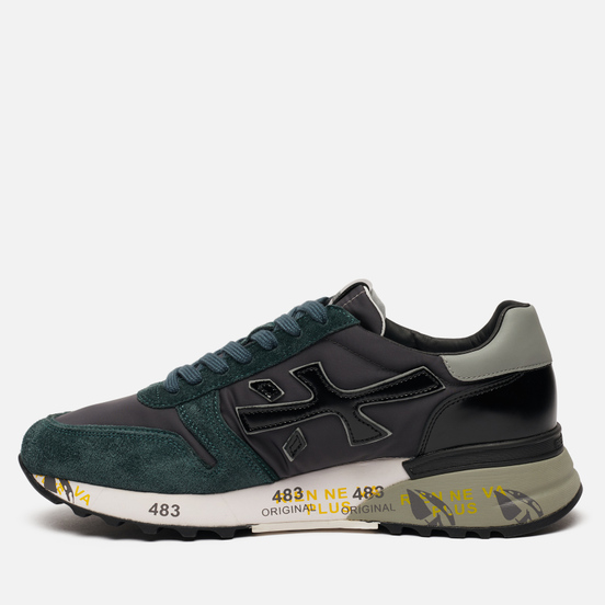 Мужские кроссовки Premiata Mick 5015 Green/Black