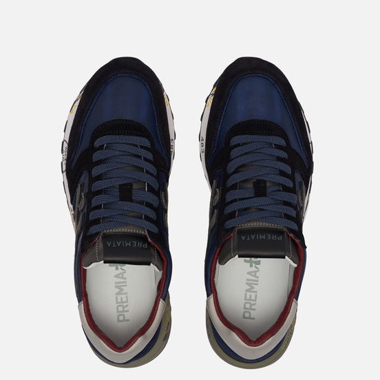 Мужские кроссовки Premiata Mick 5027 Navy Blue