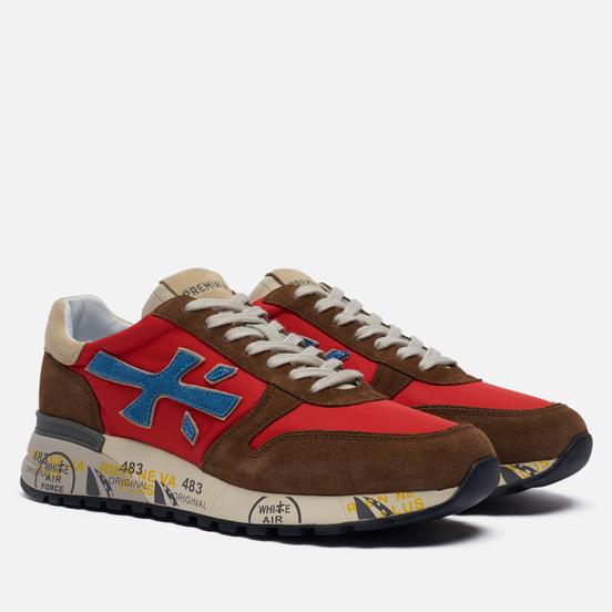 Мужские кроссовки Premiata Mick 5193 Brown/Red
