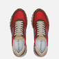 Мужские кроссовки Premiata Mick 5193 Brown/Red фото - 1