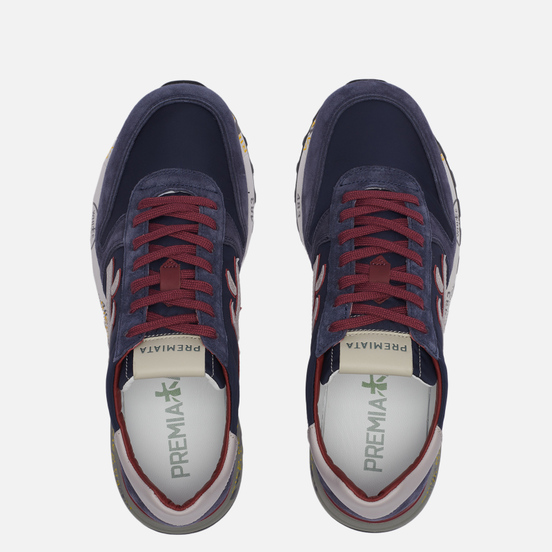 Мужские кроссовки Premiata Mick 5336 Navy