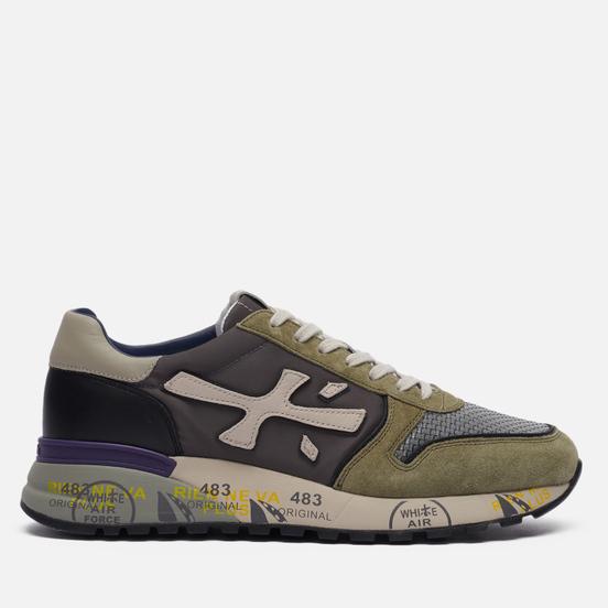 Мужские кроссовки Premiata Mick 5338 Grey/Olive