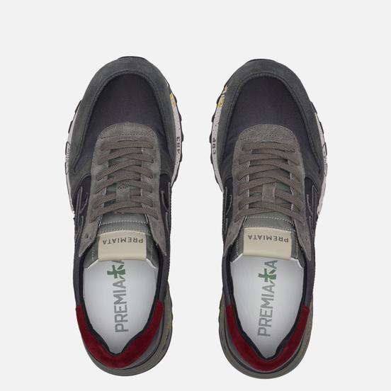 Мужские кроссовки Premiata Mick 5355 Grey