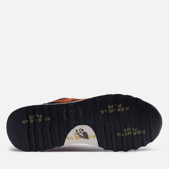 Мужские кроссовки Premiata Mick 5356 Navy/Orange