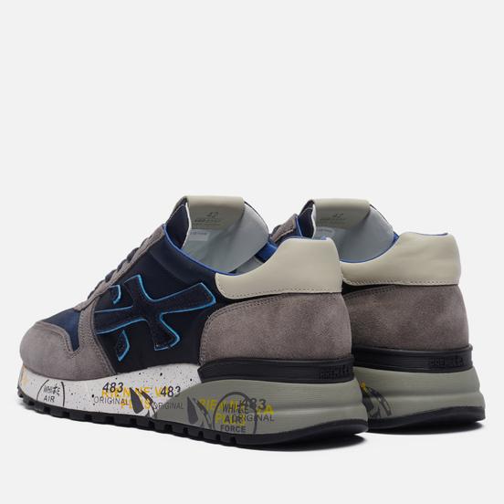 Мужские кроссовки Premiata Mick 5357 Navy/Grey